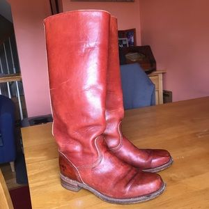 Authentic Frye tall boots sz8